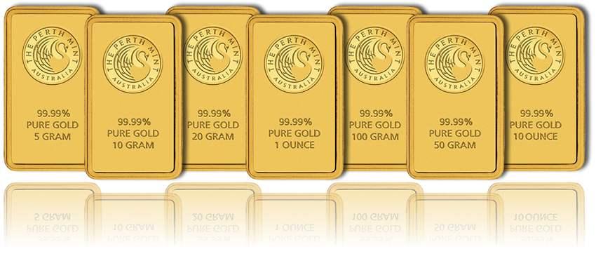 Kangaroo-Minted-Gold-Bars