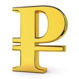 symbole-d-de-rouble-russe-35450550